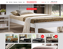 HAMSEYS beds and furniture