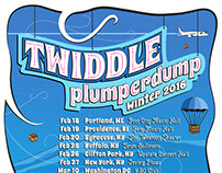 Twiddle – Winter 2016 Tour art