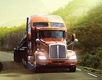 Truck Magazine Mobil Delvac - Exxon Mobill