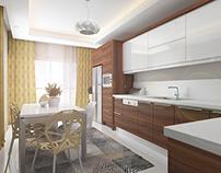 Flat Interior Design / Kitchen Design