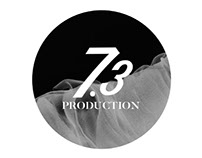 "Logo design for ""7.3 PRODUCTION"""