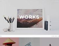 Alice Wordpress Portfolio Theme by Bluxart