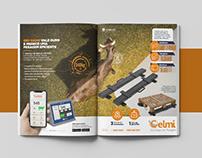 Anúncios página dupla - CELMI