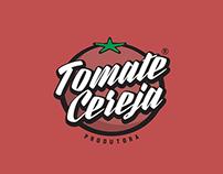 Tomate Cereja - Logo