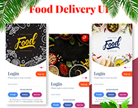 Download Food Delivery App UI