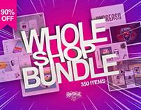 Whole Shop Bundle 2020 - 90% Off