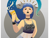 Drink&Draw IV poster