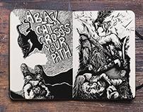 Sketchbook 2015 - illustrations