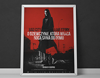 A girls walks home alone at night / PL Movie Poster