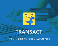Flipkart Transact (Cart / Checkout / Payments)