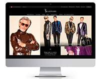 BILLIONAIRE COUTURE ECOMMERCE WEBSITE AND NEWSLETTER