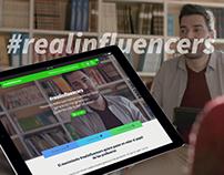 Landing y evento #realinfluencers