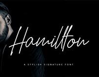 Hamillton Signature Script Typeface