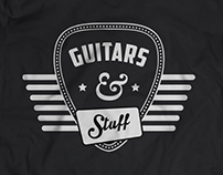 Guitars and Stuff - Logo design
