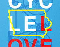 Pedal Art Poster 2015 | Cycle Love