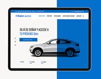 Diseño web - Baier Autos