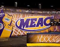 MEAC | Basketball Tournament Graphics
