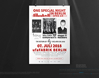 ONE SPECIAL NIGHT IN BERLIN • The Poster