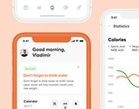 Fitness app UX/UI & Branding