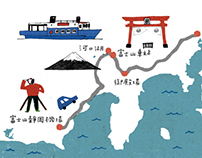 Maps of Japan for Book