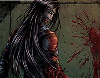 Bloodlust: Delirium comic cover