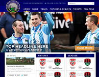 Warrenpoint Town Football Club Web UI