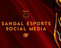 Sangal eSports Social Media 2018