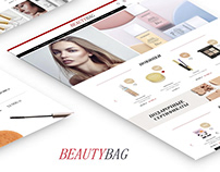Website Beauty Bag - Cosmetics, Beauty Products | UI/UX
