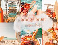 Orange Brust Mobile Lightroom Preset