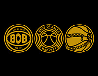 "BOB ""BAGS OF BALLS"" LOGO"