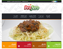 Profero Pasta - Web design & Developing