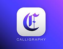 DailyUI 005: App Icon - Calligraphy App