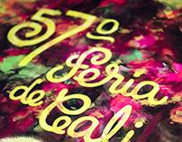 Afiche 57 Feria de Cali