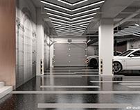 Car garage design.