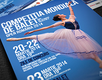 Word Ballet Competition 2014 Poster