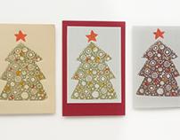 Новогодние открытки | New Year greeting card 2016