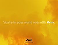 Print Campaign x Vans.