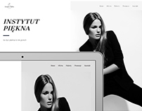 Web design minimal website