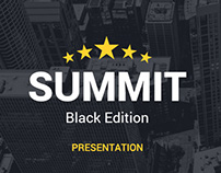Summit Black Edition Powerpoint Template