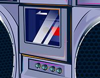Boombox Illustration