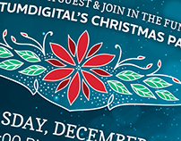 QuantumDigital's 2018 Christmas Invitation