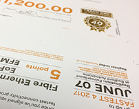 Direct Mail campaign - Print