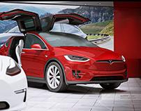 Tesla show concept