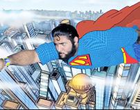 MrMantastic At ComicCon India - Old Spice India