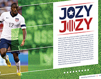 USA Soccer Editorial plus Nike Ad
