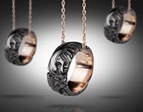 Biomechanical necklace / TYVODAR