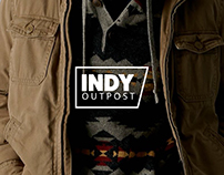Indy Outpost Mobile App Design