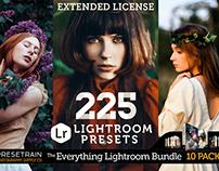 225 Presets: The Everything Lightroom Bundle