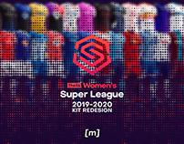 FA Women's Super League Kit Redesign