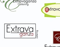 Extravaganza Catering logo samples